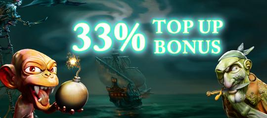 Weekend Top Up Bonus